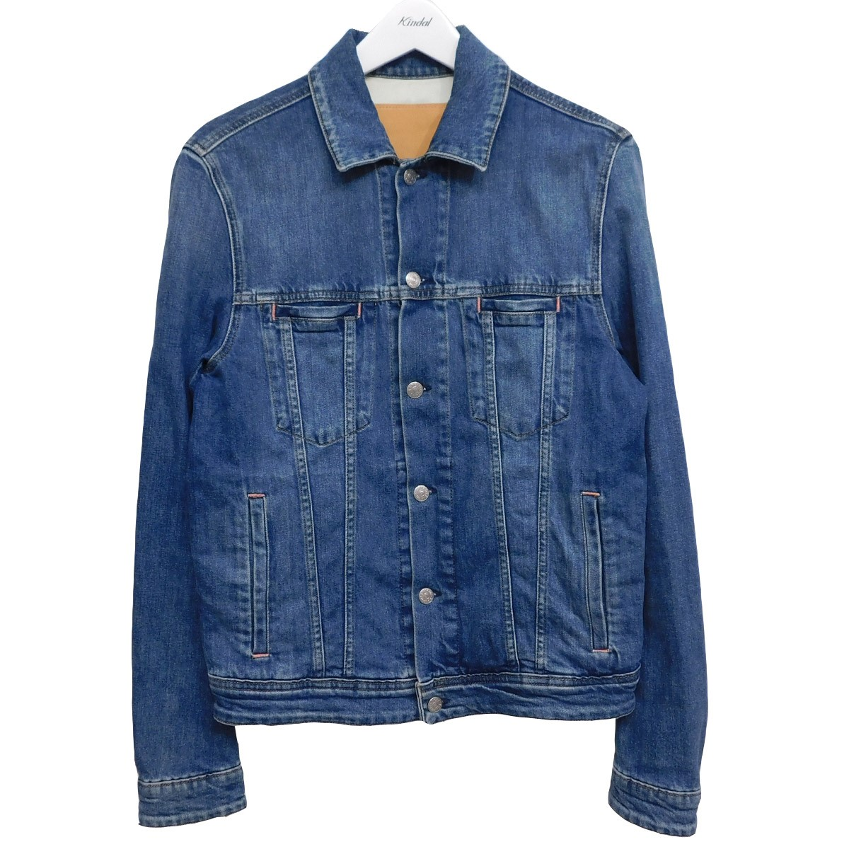 【中古】ACNE STUDIOS Bla Konst Pass Mid Blue デニムトラッカージャケット インディゴ サイズ:46 【140720】(アクネストゥディオズ ブロコンスト)