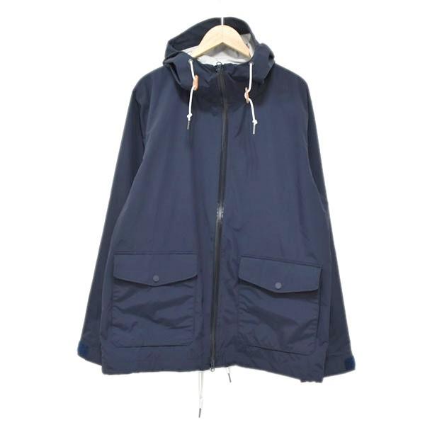 【中古】HELLY HANSEN マウンテンパーカー アルマークジャケット HOW11810 ネイビー サイズ:XL 【150720】(ヘリーハンセン)