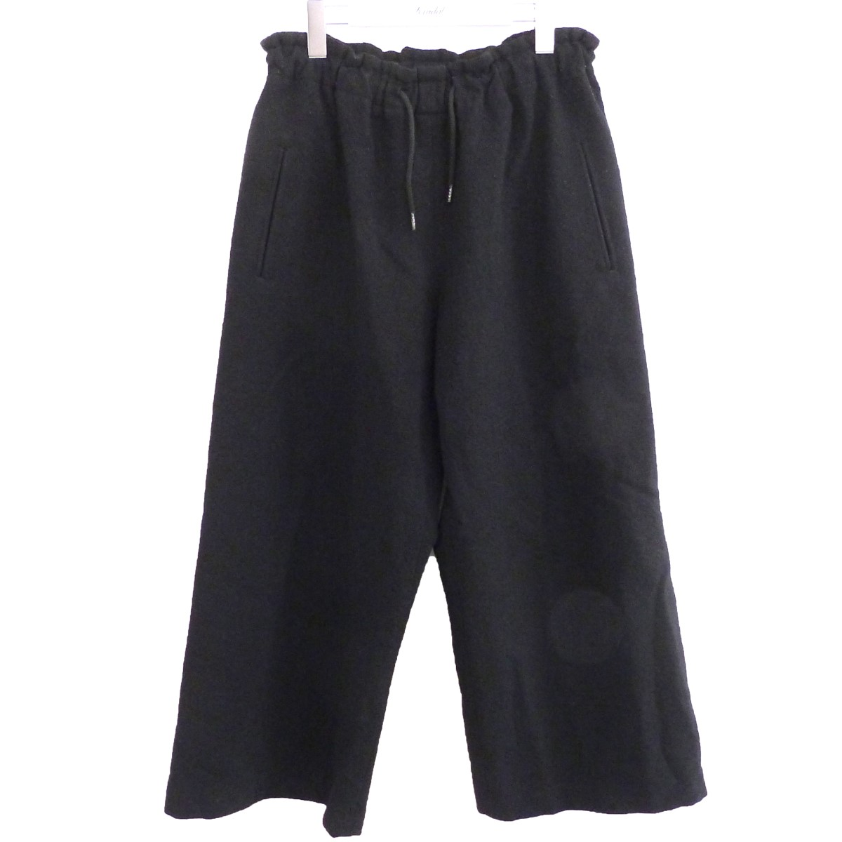 【中古】Y'S イージーワイドパンツ ブラック サイズ:2 【150720】(ワイズ)