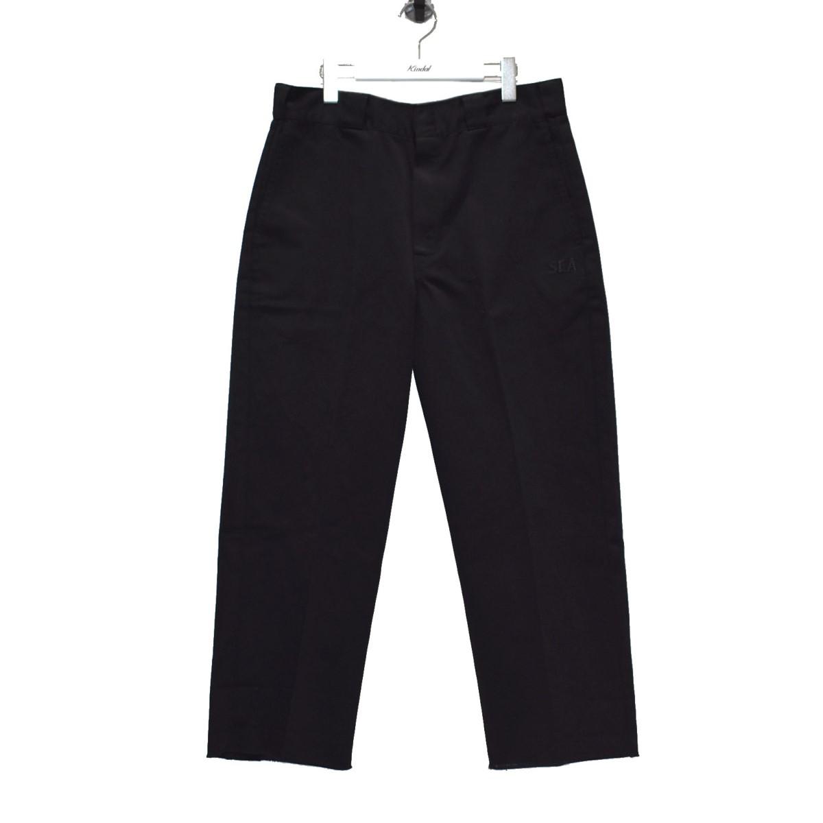【中古】WIND AND SEA 20SS ×DICKIES パンツ ブラック サイズ:M 【170720】(ウィンダンシー)