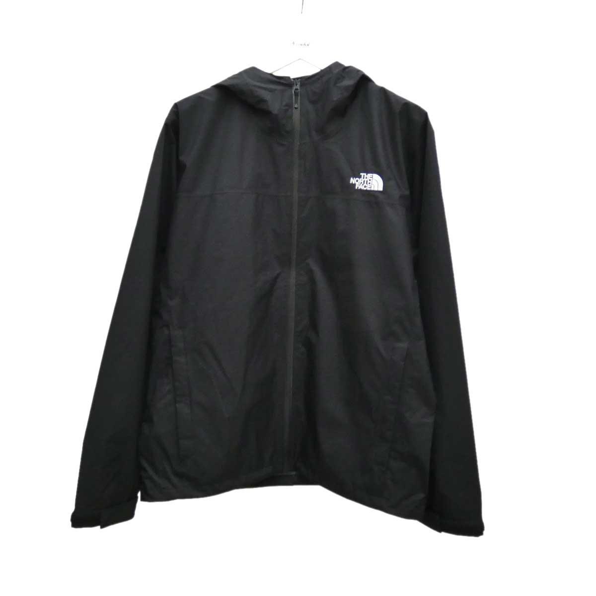 【中古】THE NORTH FACE ベンチャージャケット ブラック サイズ:L 【180720】(ザノースフェイス)