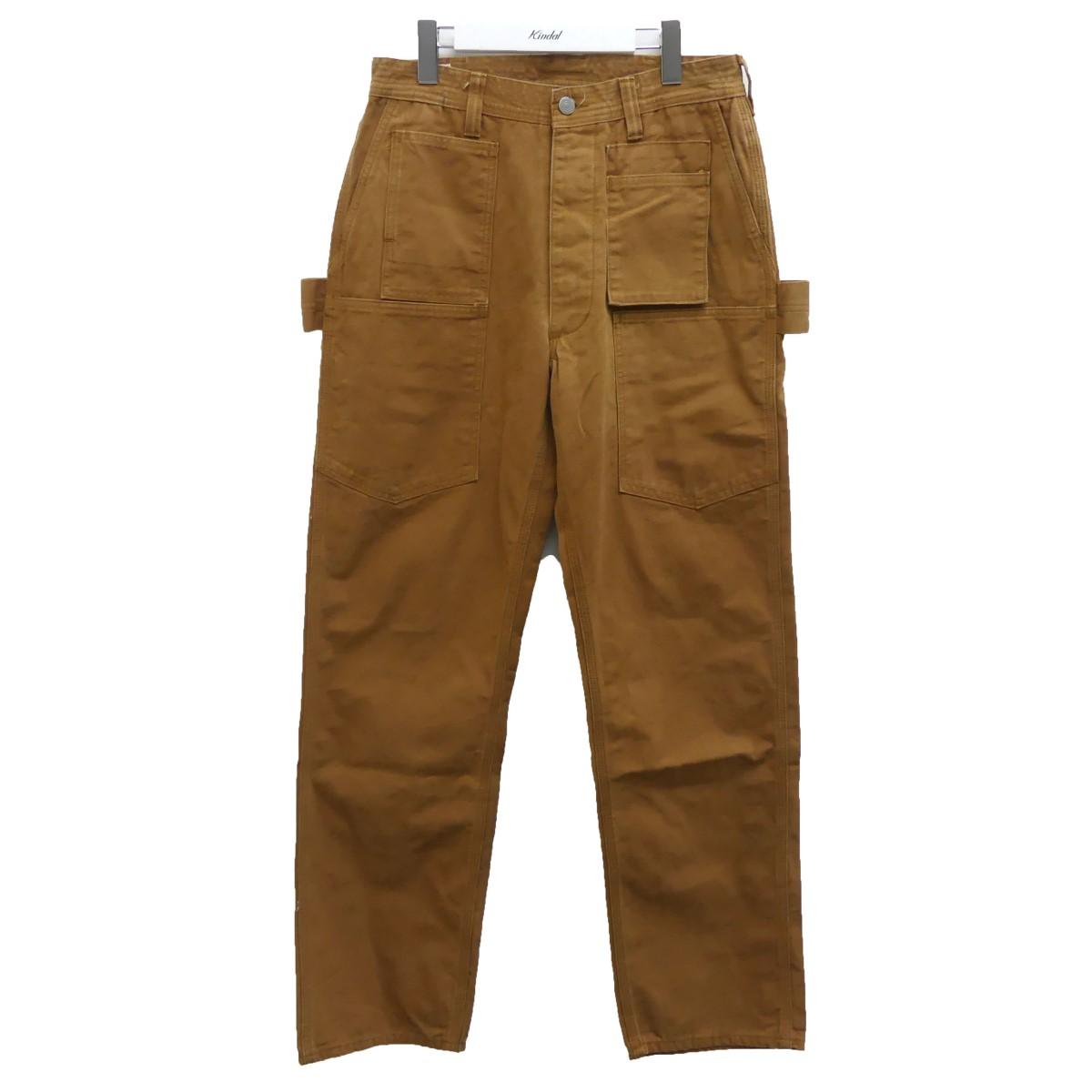 【中古】SASSAFRAS 18SS Whole Pruner Pants ホールプルーナーパンツ ブラウン サイズ:S 【200720】(ササフラス)