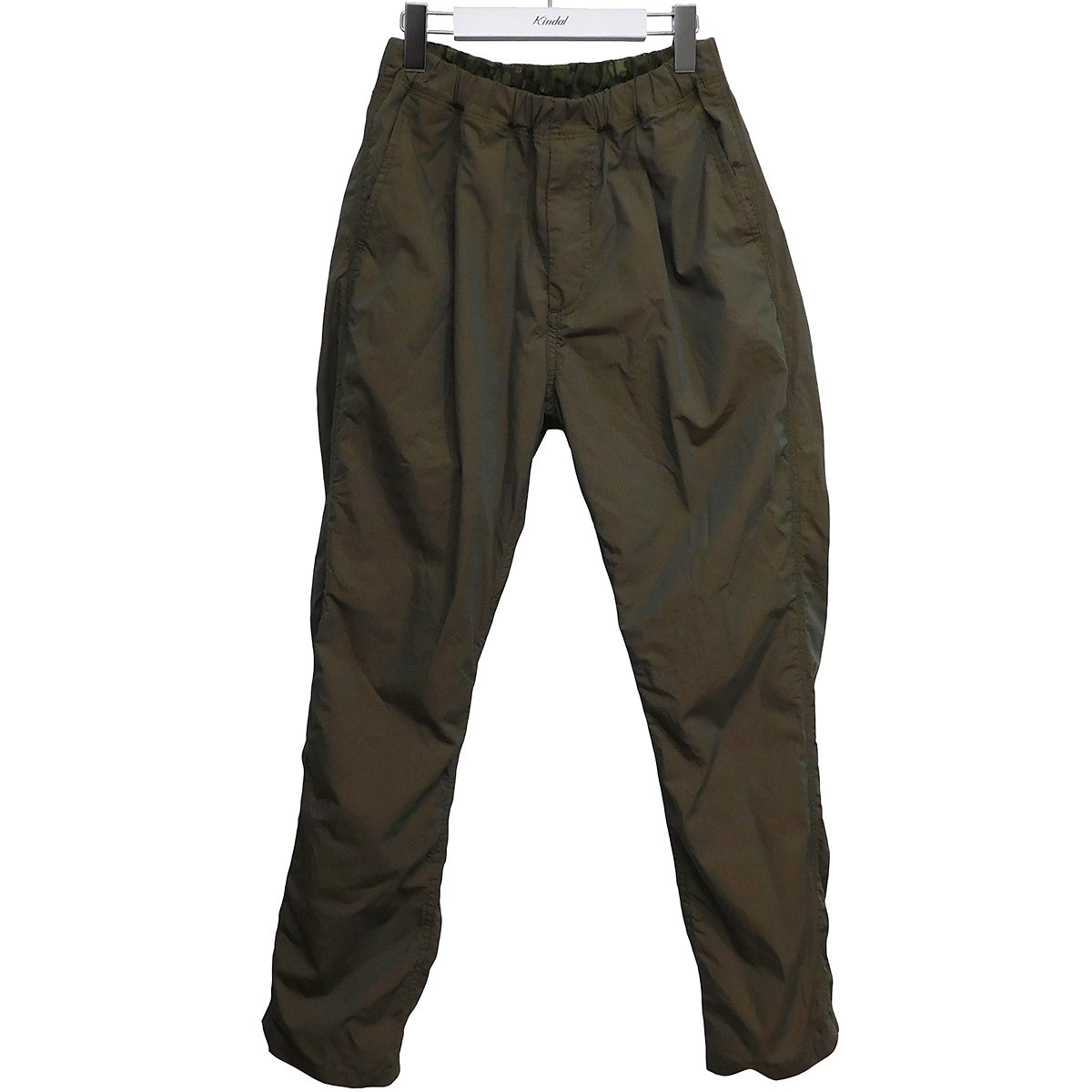 【中古】nonnative 2020SS DWELLER EASY PANTS RELAX FIT COTTON RIPSTOP オリーブ サイズ:1 【190720】(ノンネイティブ)