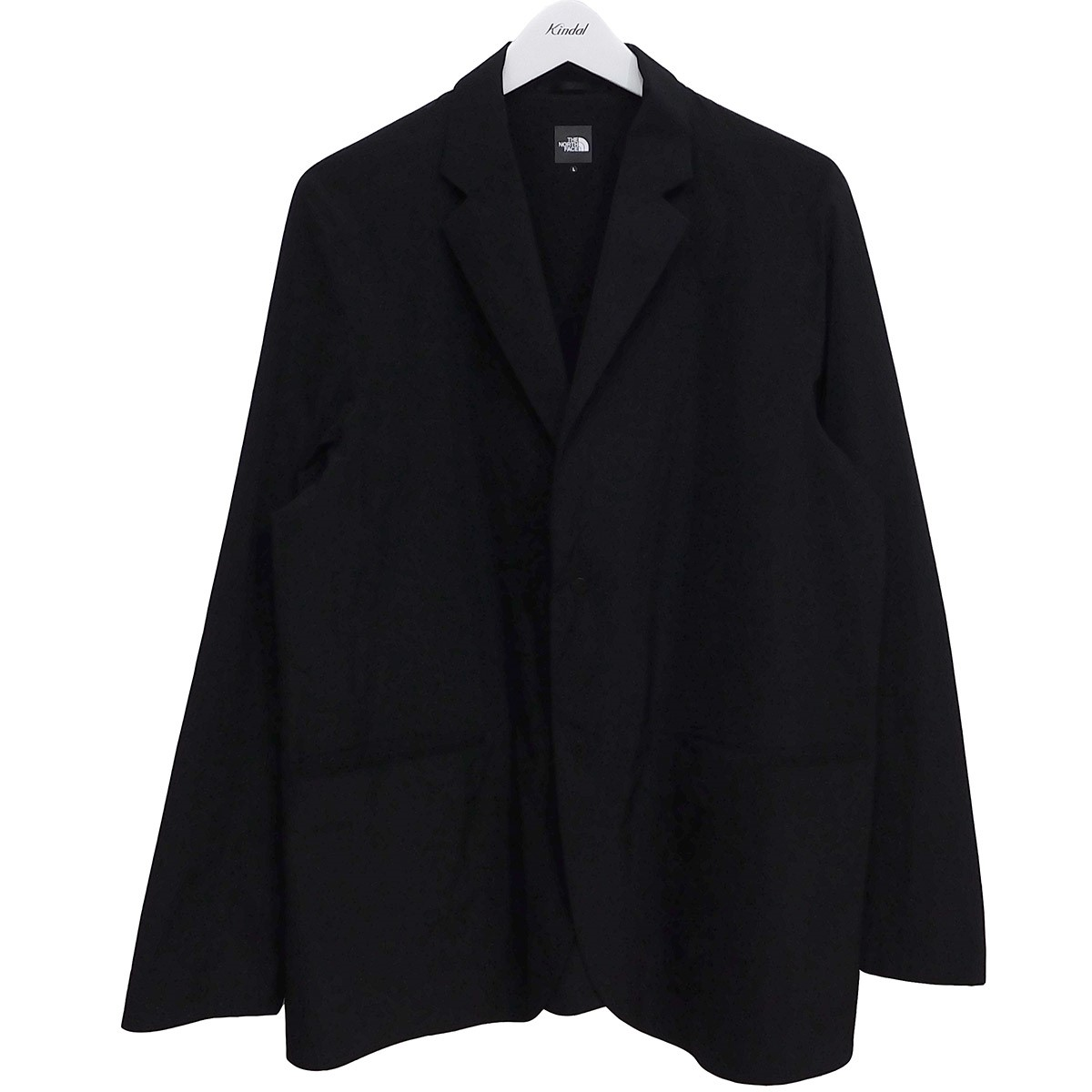 【中古】THE NORTH FACE Desert Jacket スナップボタン2Bナイロンジャケット ブラック サイズ:L 【190720】(ザノースフェイス)