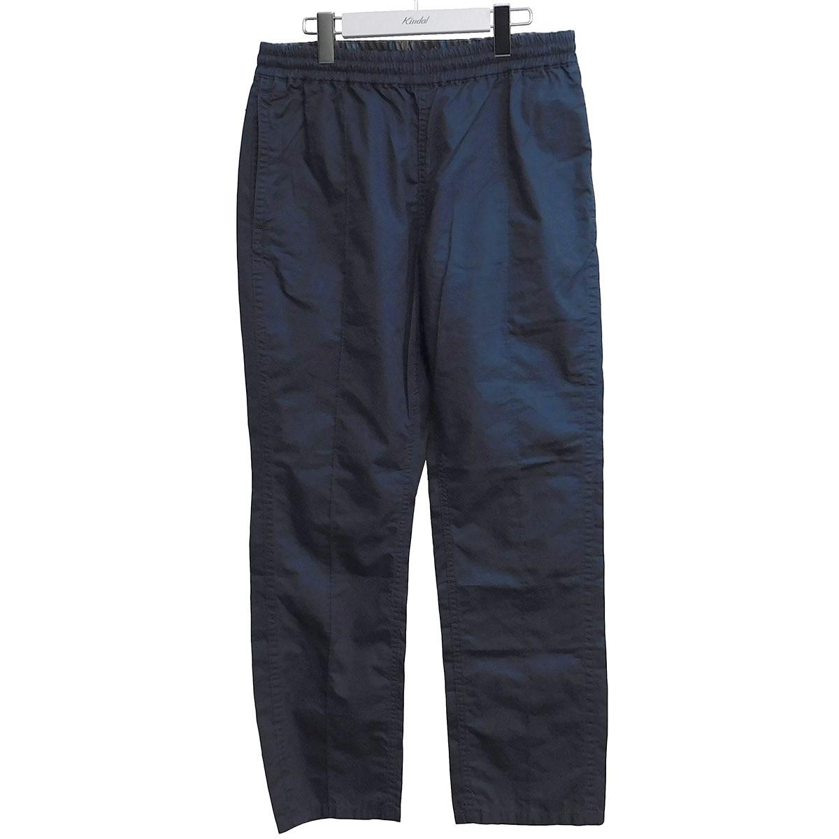 【中古】nonnative 2020SS OFFICER EASY PANTS イージーパンツ ブルー サイズ:1 【200720】(ノンネイティブ)