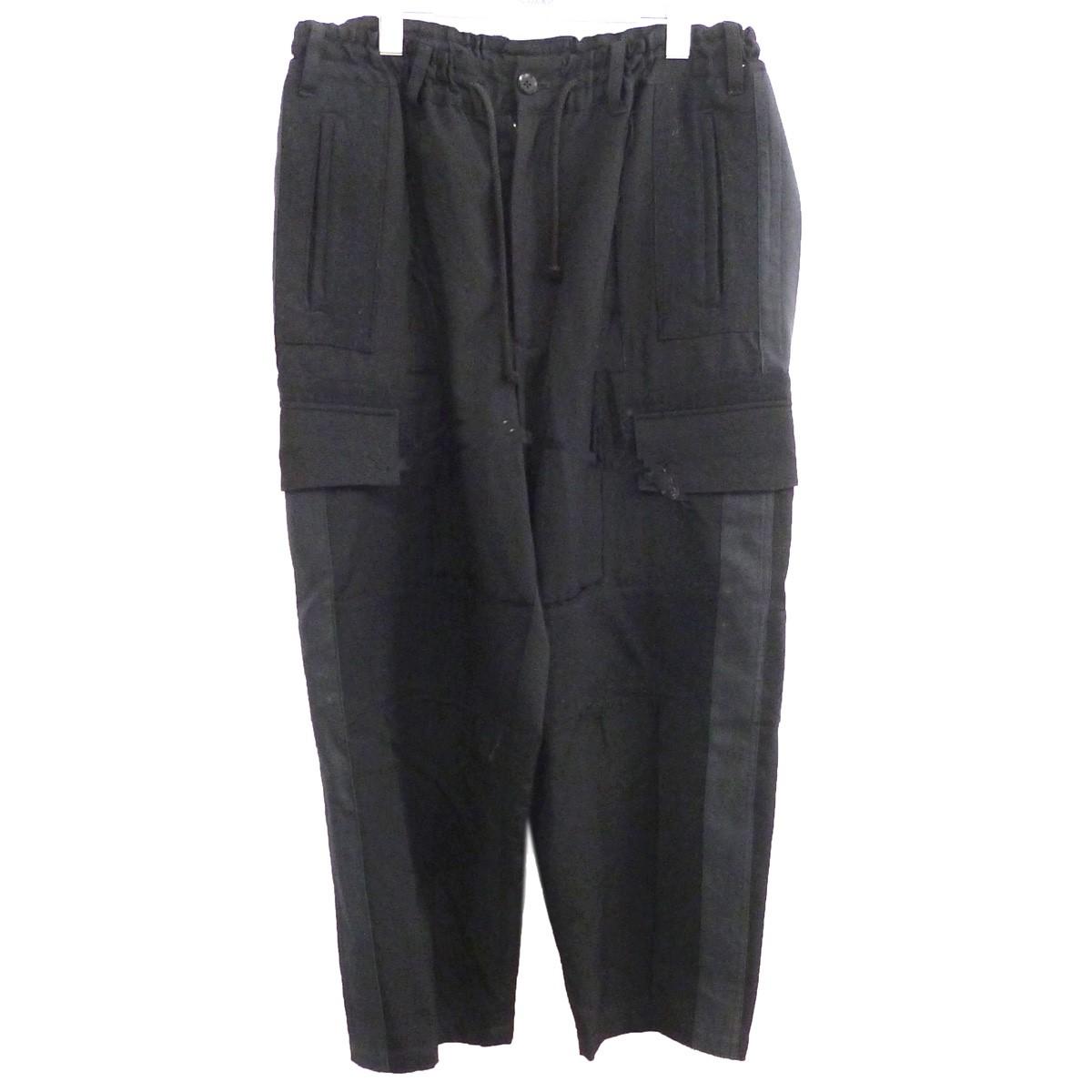 【中古】YOHJI YAMAMOTO pour homme 15AW 再構築カーゴパンツ ブラック サイズ:2 【210720】(ヨウジヤマモトプールオム)