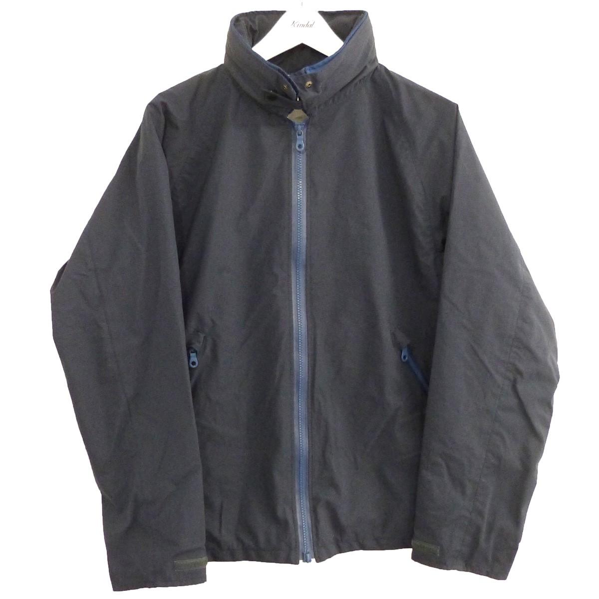 【中古】phingerin 「FLAME UPSET JACKET」トラックジャケット ネイビー サイズ:L 【210720】(フィンガリン)