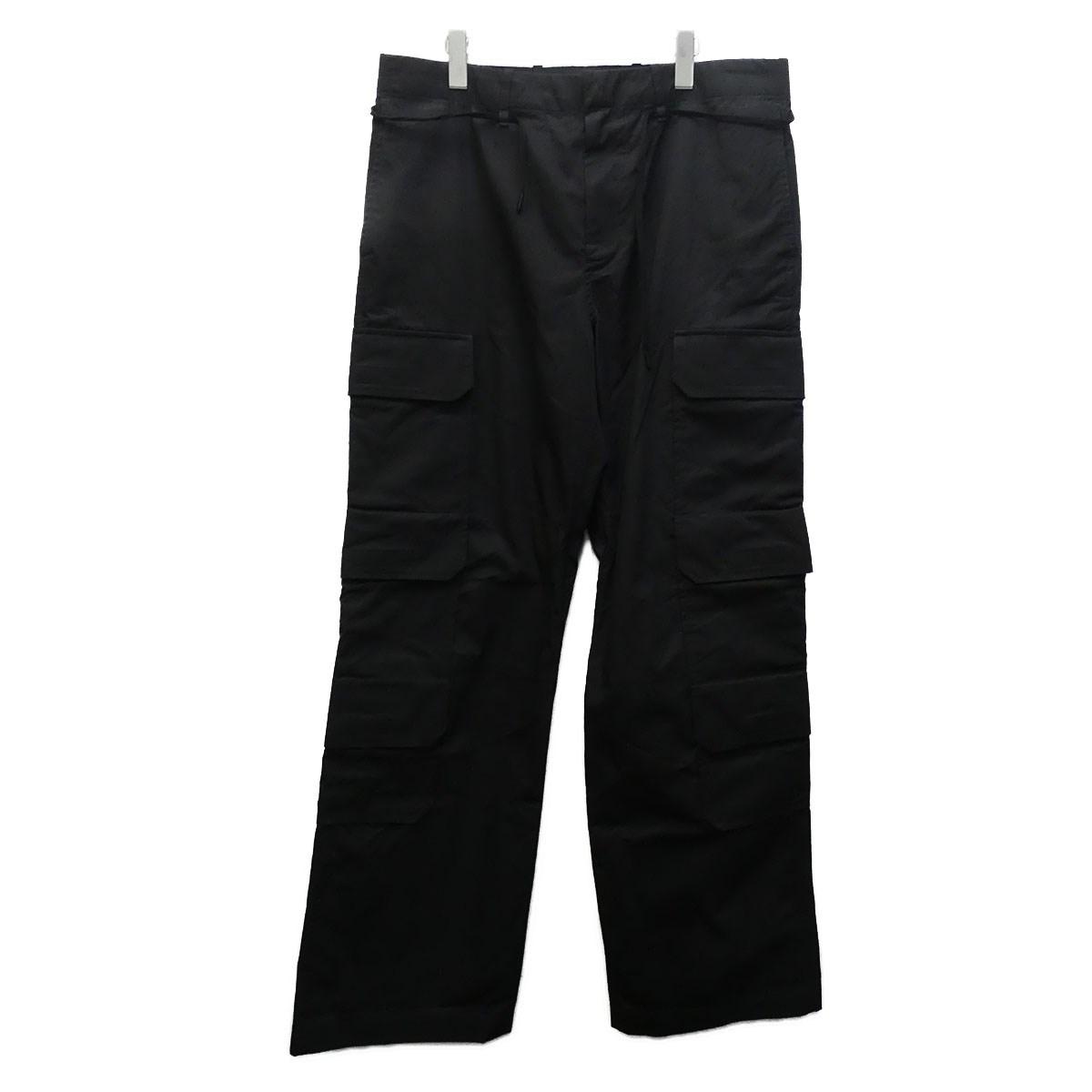 【中古】LOUIS VUITTON 20SS カーゴパンツ ブラック サイズ:42 【210720】(ルイヴィトン)