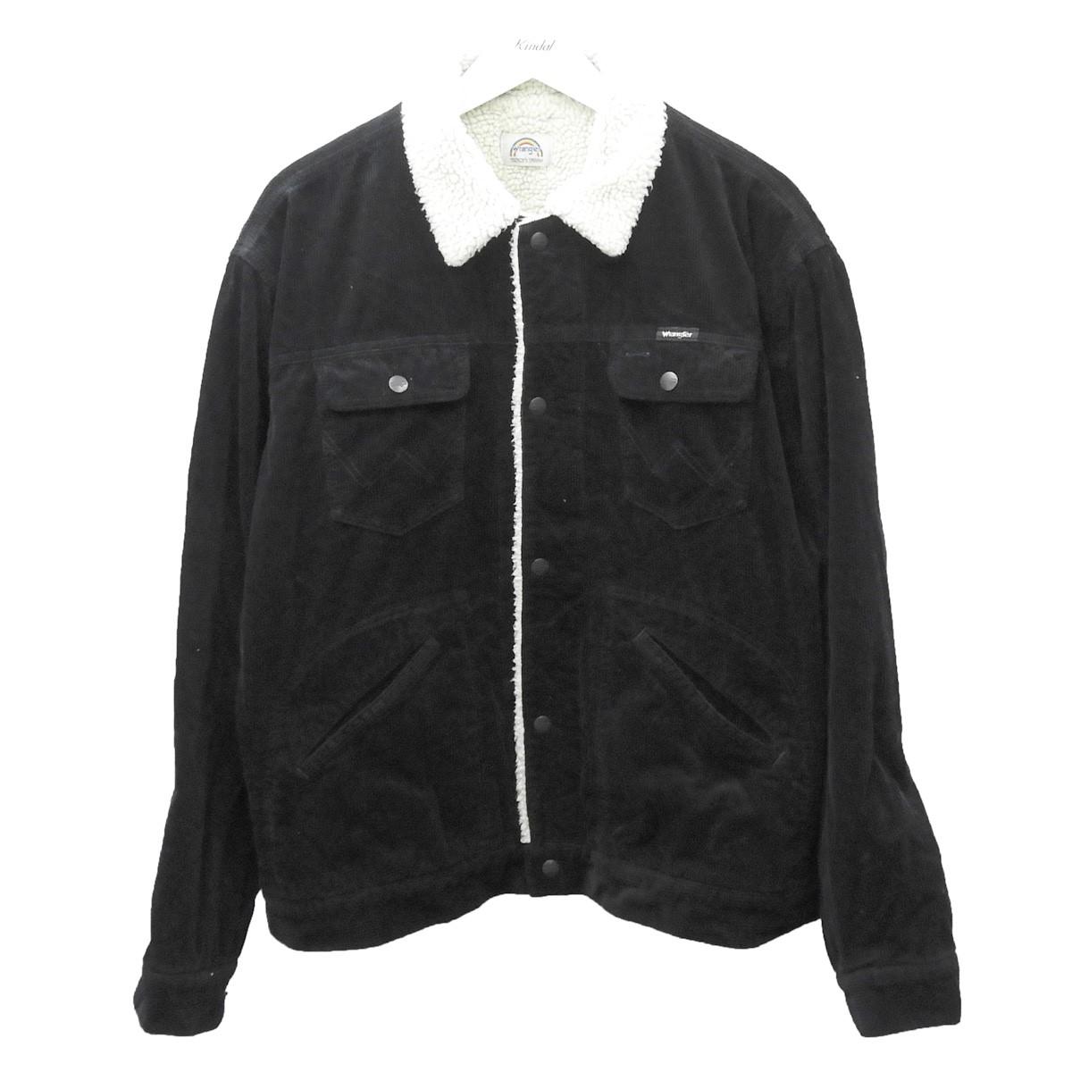 【中古】YSTRDY'S TMRRW×Wrangler コーデュロイボアジャケット ブラック サイズ:M 【230720】(イエスタデイズトゥモロー ラングラー)