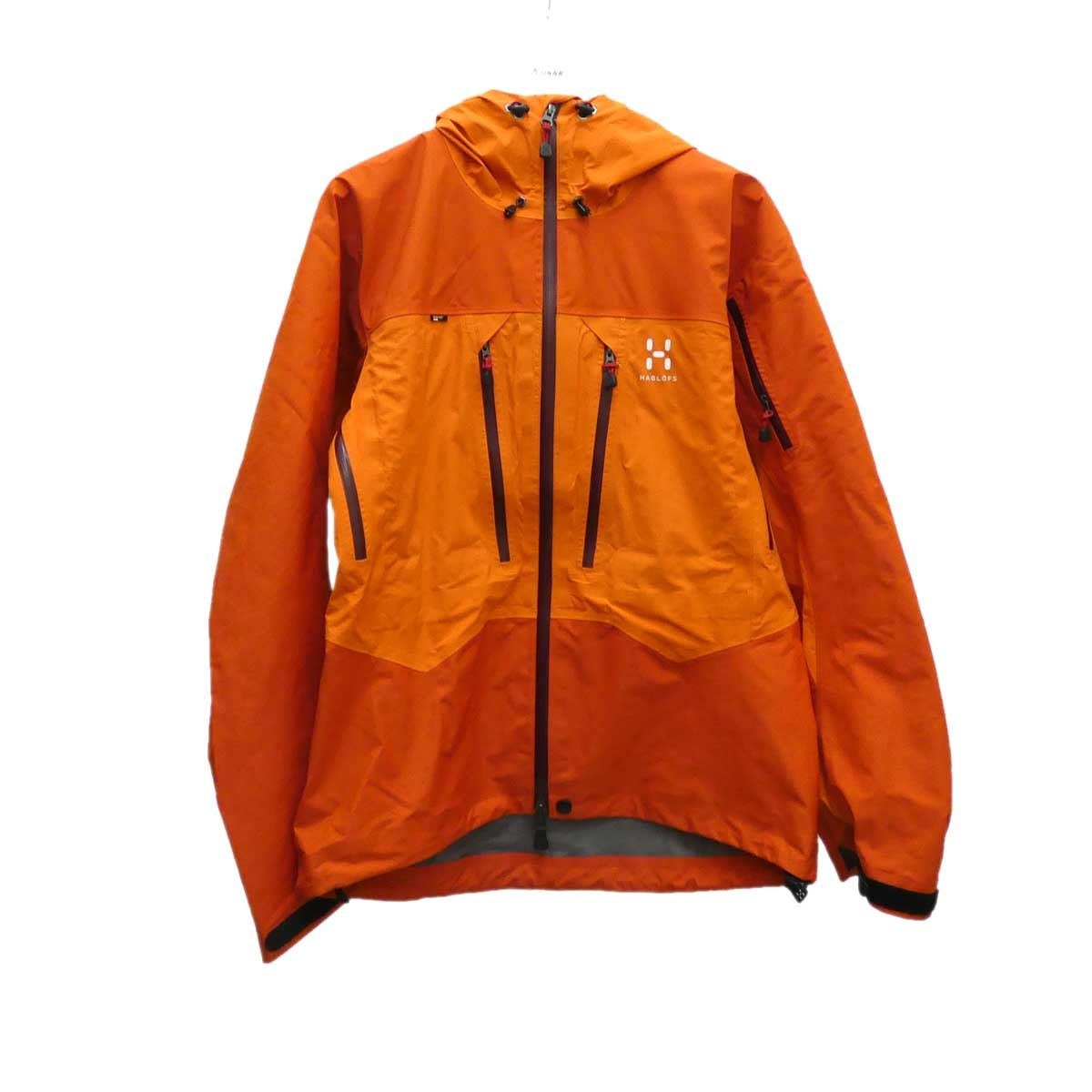 【中古】HAGLOFS マウンテンパーカー オレンジ サイズ:M 【230720】(ホグロフス)