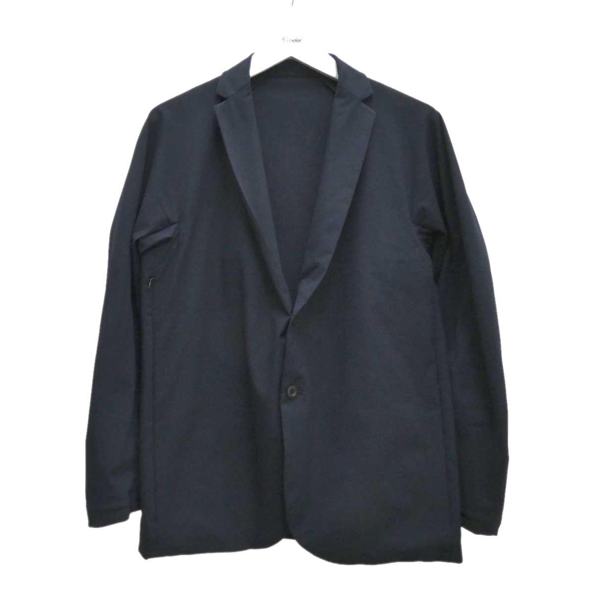 【中古】TEATORA WALLET JKT SM solomodule ジャケット ネイビー サイズ:2 【240720】(テアトラ)