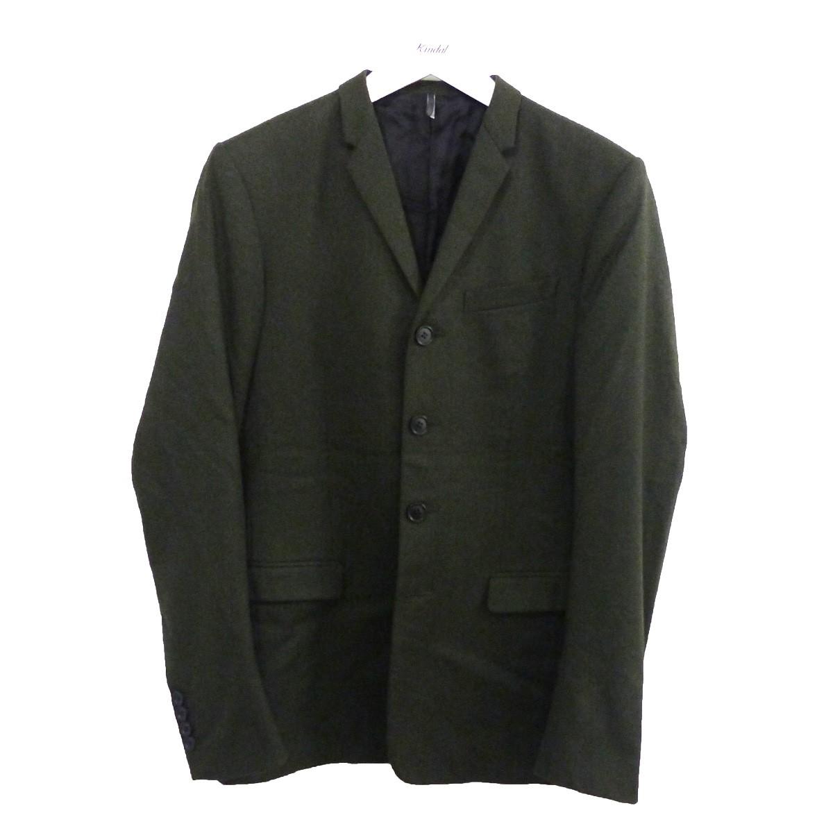 【中古】Dior Homme ノッチドラペル4Bジャケット カーキ サイズ:44 【250720】(ディオールオム)