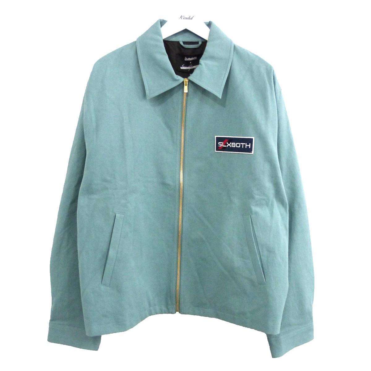 【中古】both×Secound Layer コットンツイルロングスリーブジャケット グリーン サイズ:XL 【250720】(ボース セカンドレイヤー)