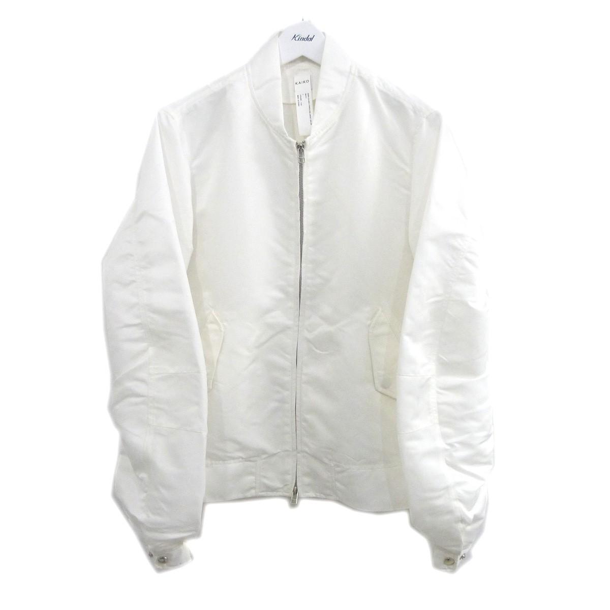 【中古】KAIKO 「FORCELESS JACKET NYLON」フォースレスジャケット ホワイト 【260720】(カイコー)
