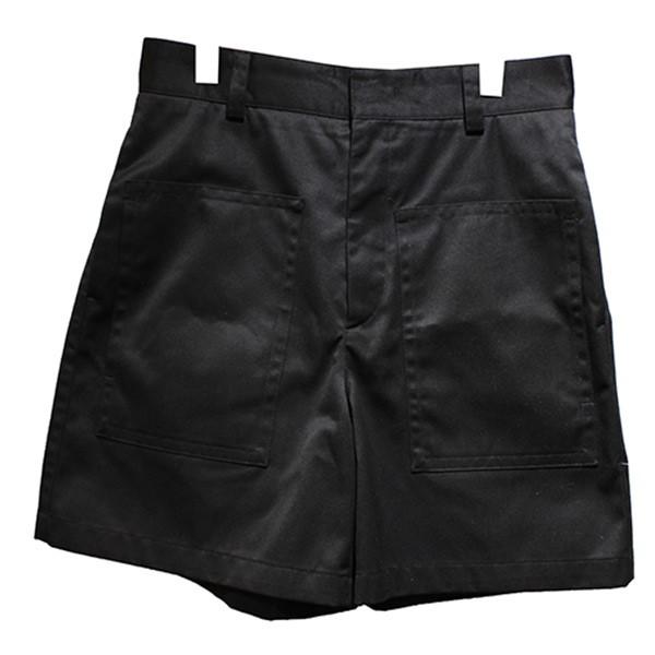 【中古】JIL SANDER 20SS ショートパンツ ビッグポケットパンツ ブラック サイズ:44 【260720】(ジルサンダー)