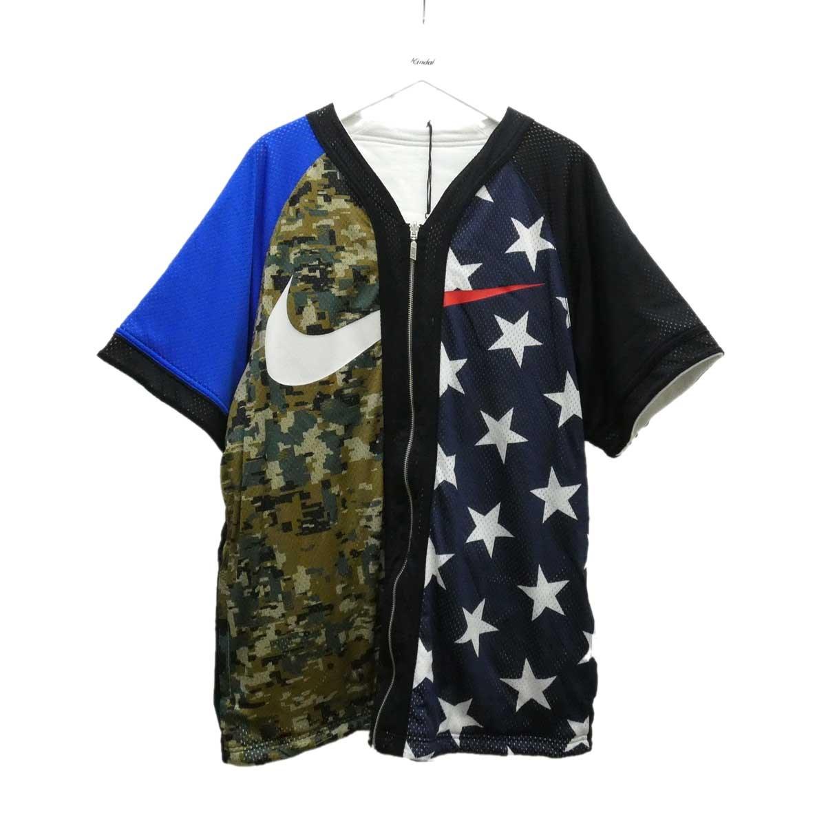 【中古】NIKE ベースボールシャツ マルチカラー サイズ:XL 【280720】(ナイキ)