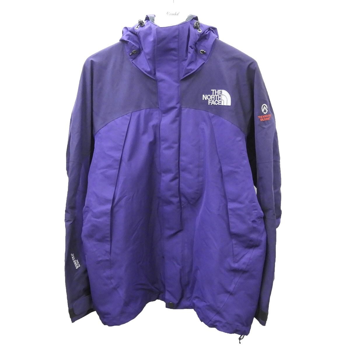 【中古】THE NORTH FACE 「SUMMIT SERIES Mountain Jacket」 GORE-TEXマウンテンジャケット パープル サイズ:M 【300720】(ザノースフェイス)