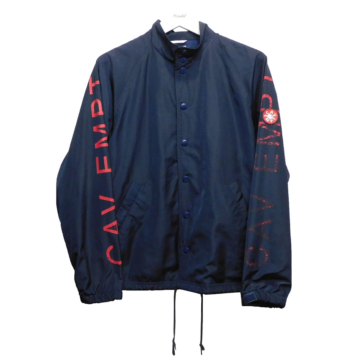 【中古】C.E 14AW 「CAV EMPT STAND COLLAR COATH JACKET」 ネイビー サイズ:S 【310720】(シーイー)