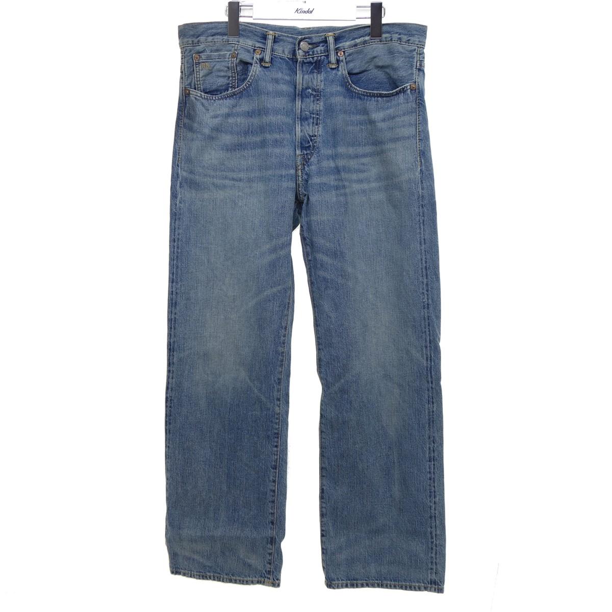 【中古】RRL Straight Leg Jeans In Eubanks Wash インディゴ サイズ:32 【010820】(ダブルアールエル)