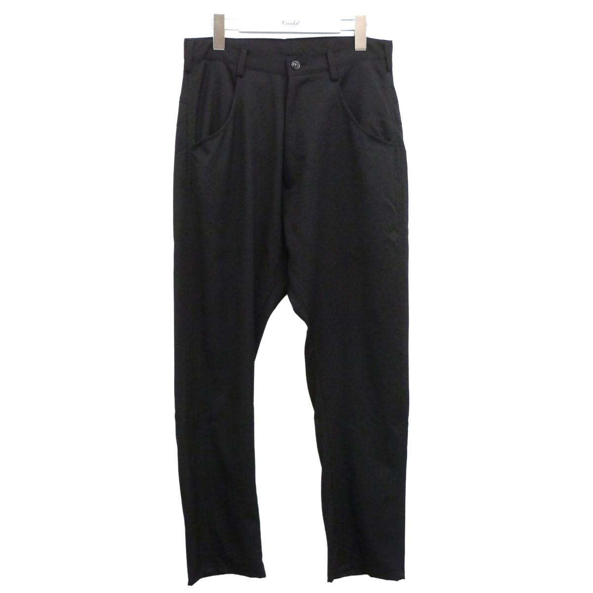 【中古】sulvam '20SS 「Sick Bandage Pants」ボンテージパンツ ブラック サイズ:S 【010820】(サルバム)