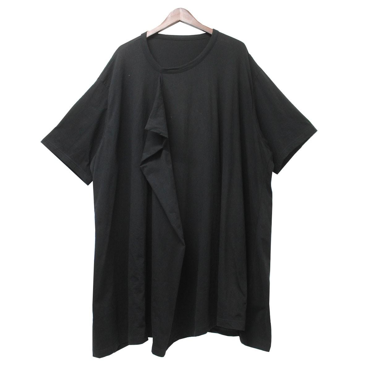 【あすつく】 【】Ground Y (Yohji Yamamoto)20SS フロントドレープビッグTシャツ ブラック サイズ:3 【9月28日見直し】, SENEN ZAKKA e05ade43