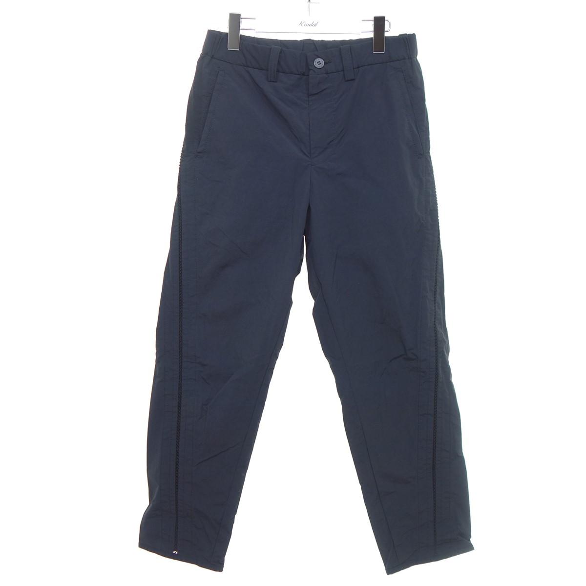 【中古】ISSEY MIYAKE MEN 20SS サイド編み込み装飾パンツ ブラック サイズ:1 【040820】(イッセイミヤケ)