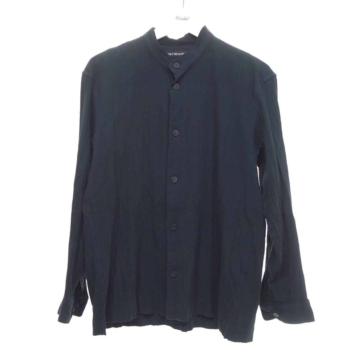 春夏新作モデル 【】ISSEY MIYAKE MEN 20SS DRIP SHIRT 長袖シャツ ブラック サイズ:1 【040820】(イッセイミヤケ), 【再入荷!】 92fe2d27