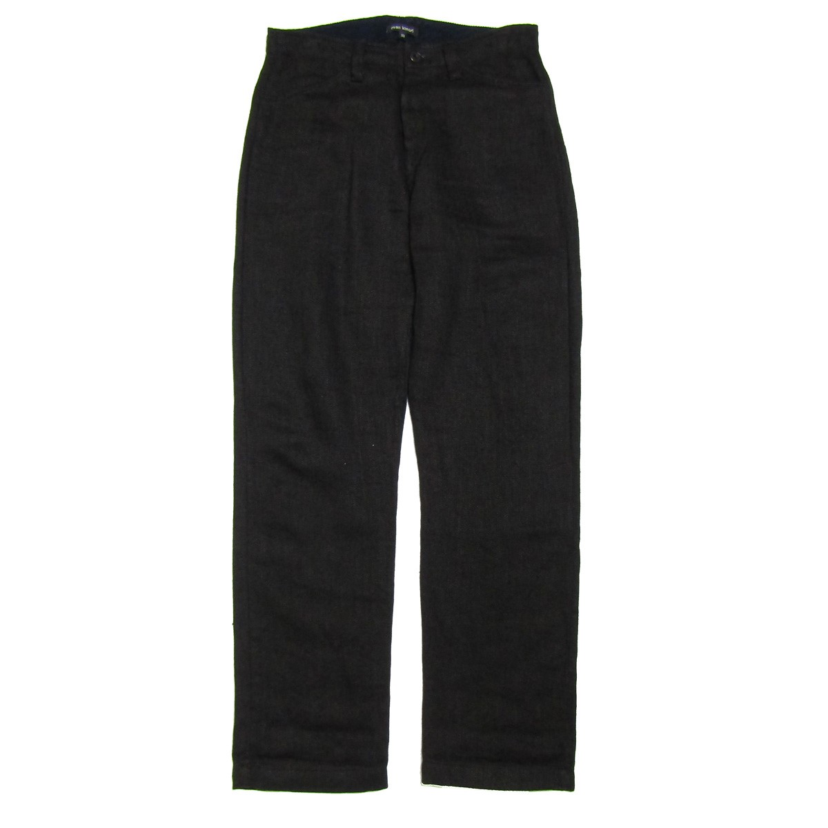 【中古】evan kinori Four Pocket Pant-Linen/リネンパンツ ブラック サイズ:30 【070820】(エヴァンキノリ)
