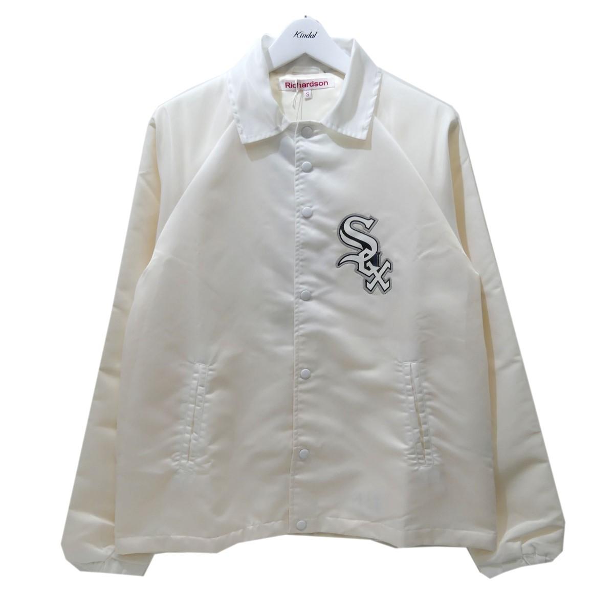 【中古】Richardson ナイロンコーチジャケット ホワイト サイズ:S 【090820】(リチャードソン)