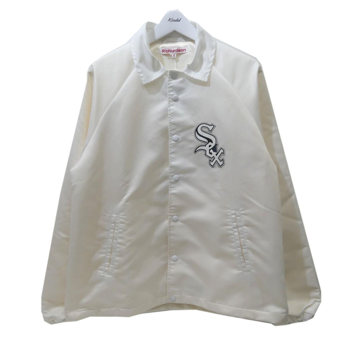 【中古】Richardson ナイロンコーチジャケット ホワイト サイズ:M 【090820】(リチャードソン)