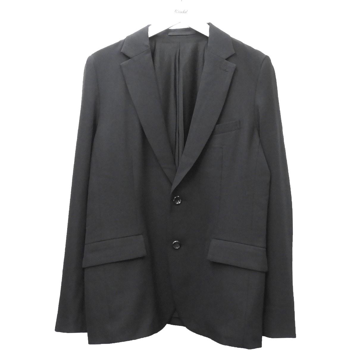 【中古】ATTACHMENT 2019AW テーラードジャケット ブラック サイズ:3 【100820】(アタッチメント)
