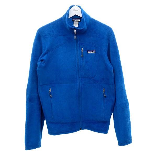 【中古】patagonia R2フリースジャケット ブルー サイズ:S 【100820】(パタゴニア)
