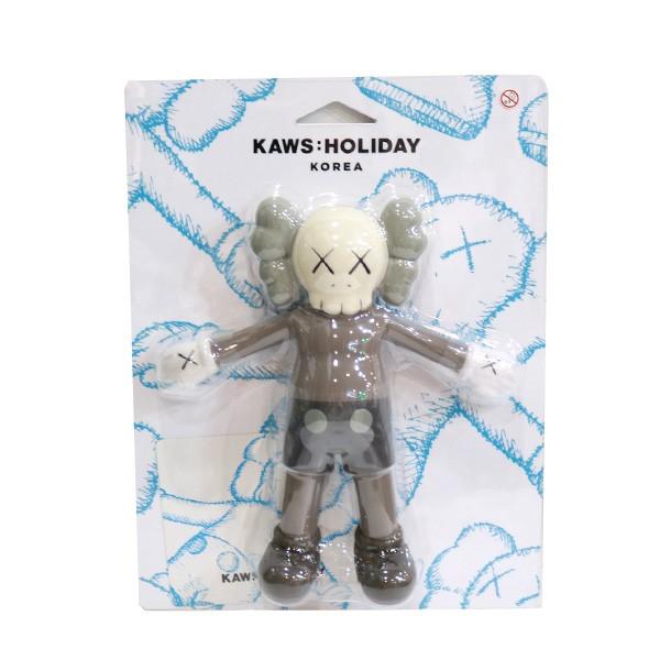 【中古】KAWS HOLIDAY JAPAN 限定フィギュア KOREA グレー系 サイズ:F 【090820】(カウズ ホリデー ジャパン)
