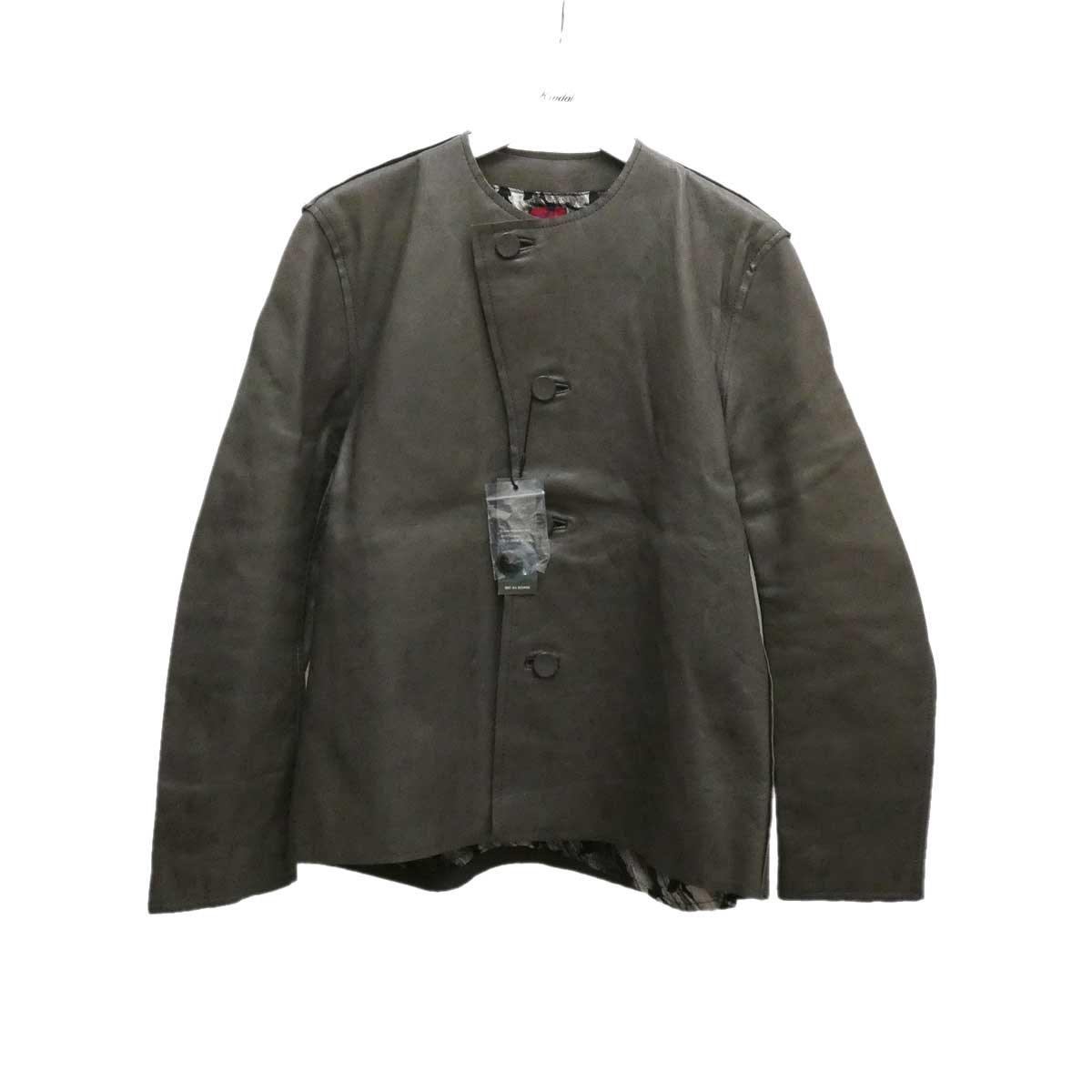 【中古】BRU NA BOINNE×BEAMS レプラホースジャケット ダークグレー サイズ:1 【110820】(ブルーナボイン×ビームス)