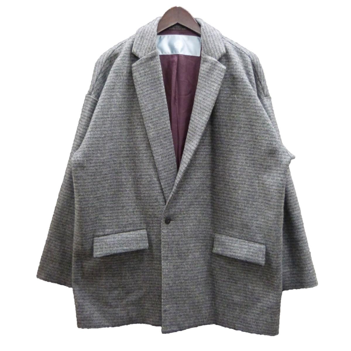 【中古】Dulcamara よそいき1Bジャケット グレー サイズ:1 【130820】(ドゥルカマラ)