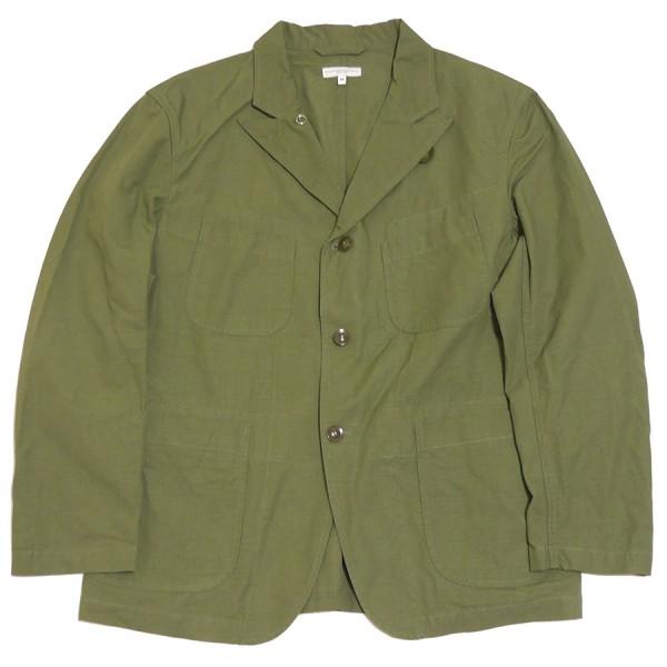 【中古】Engineered Garments 2020SS Bedford Jacket CottonRipstop ベッド フォード ジャケット オリーブ サイズ:M 【140820】(エンジニアードガーメンツ)