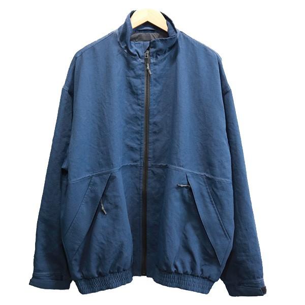 【中古】VAINL ARCHIVE 18SS TR-JKT ジャケット ネイビー サイズ:L 【140820】(ヴァイナル アーカイブ)
