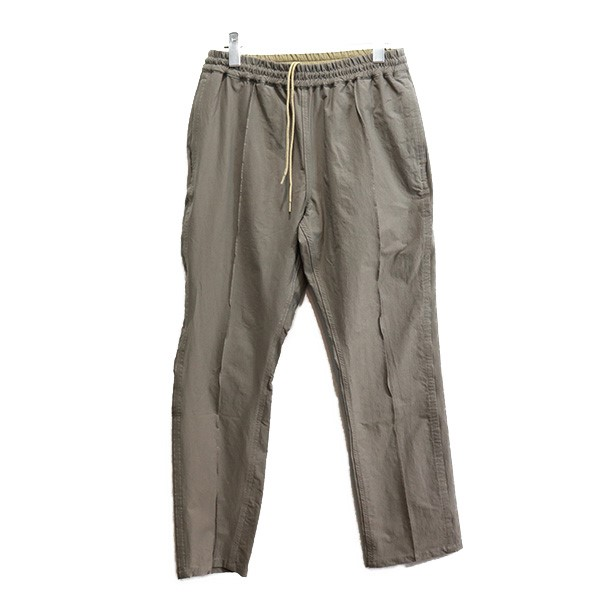 【中古】nonnative 20SS OFFICER EASY PANTS N/P TWILL 2WAY STRETCH パンツ ベージュ サイズ:1 【140820】(ノンネイティブ)