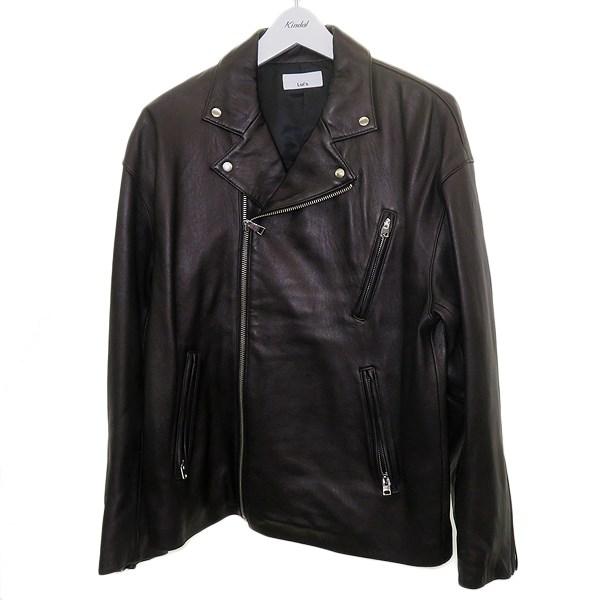 【中古】LUI'S レザーダブルライダースジャケット ブラック サイズ:S 【180820】(ルイス)
