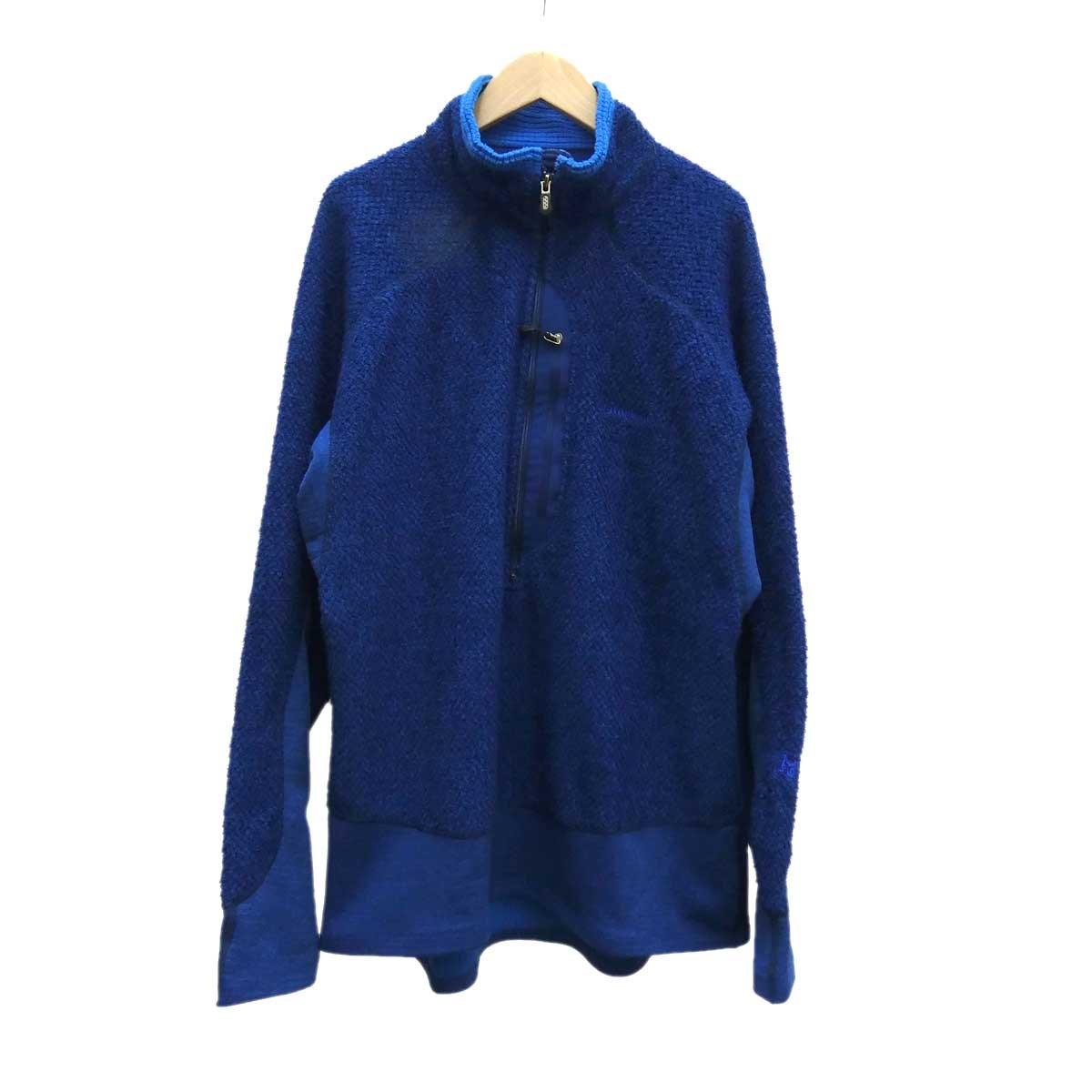 【中古】patagonia R1 フラッシュプルオーバー ブルー サイズ:L 【210820】(パタゴニア)