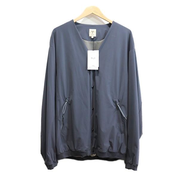 【中古】SCYE 20SS Ultra2WayNylon Stretch Cardigan ジャケット グレー サイズ:40 【210820】(サイ)