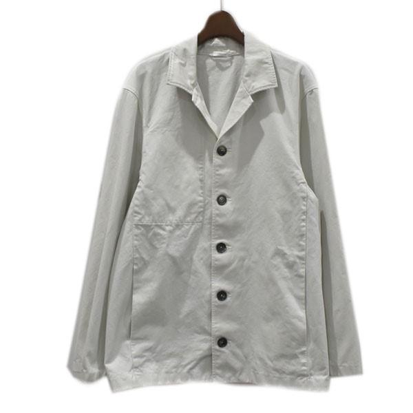 【中古】JIL SANDER 17SS ワークジャケット ライトグレー サイズ:48 【230820】(ジルサンダー)