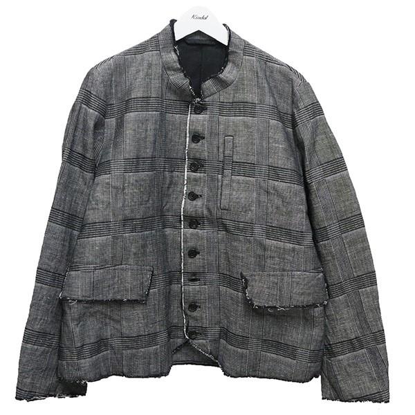 【中古】QUILP Morris ドクタージャケット グレー サイズ:S 【230820】(クイルプ)