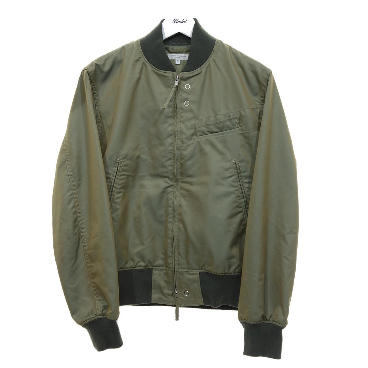 【中古】Engineered Garments Aviator Jacket Nyco Poplin ブルゾン カーキ サイズ:S 【250820】(エンジニアードガーメンツ)