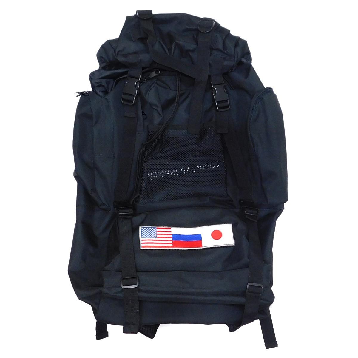 【中古】Gosha Rubchinskiy Medium Backpack バックパック ブラック 【250820】(ゴーシャラブチンスキー)