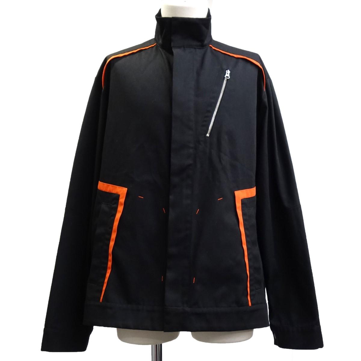 【中古】AFFIX 19SS 「WORKS Public Service」 ワークジャケット ブラック サイズ:S 【260820】(アフィックス)