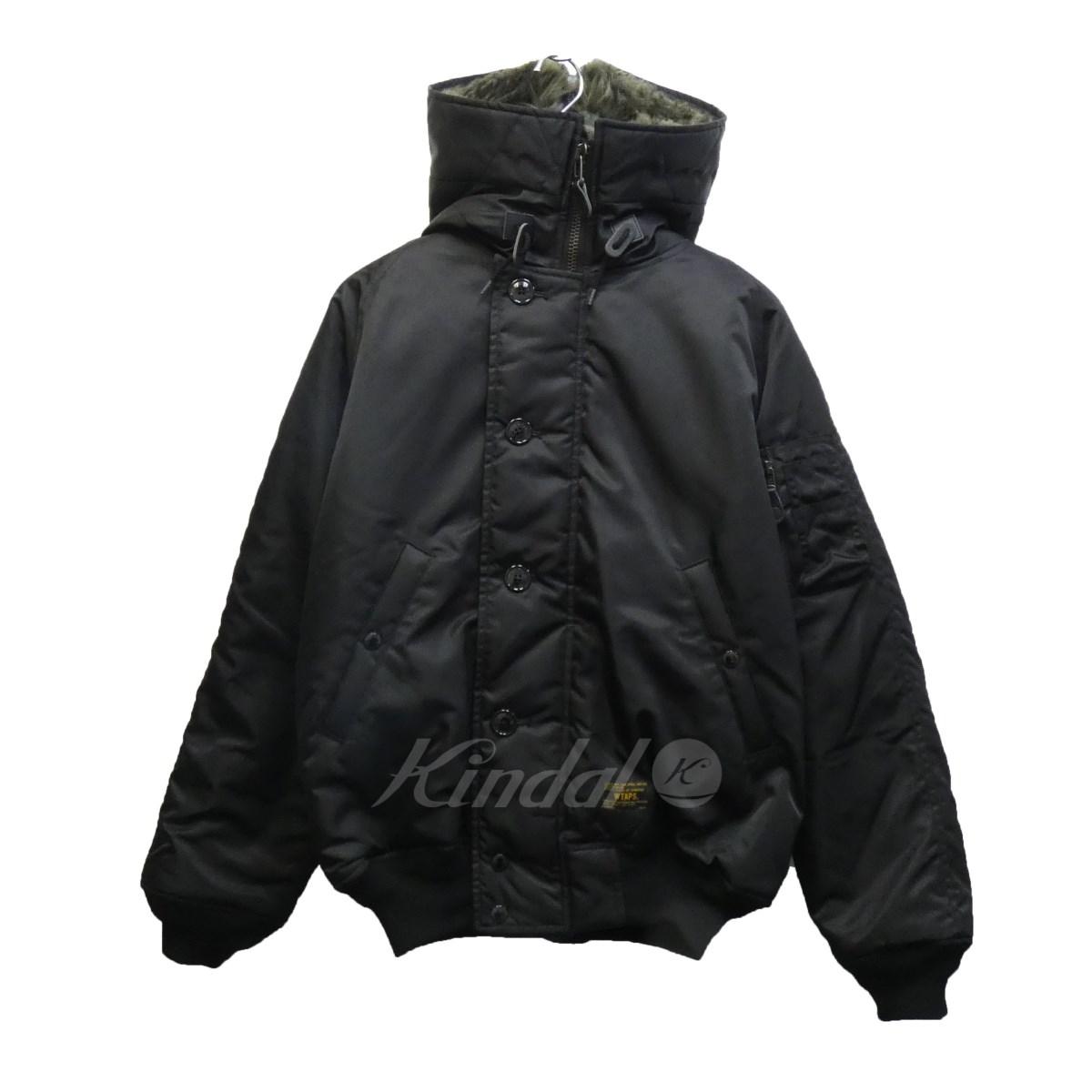【中古】WTAPS 17AW 「N-2B」N-2Bミリタリージャケット ブラック サイズ:02 【260820】(ダブルタップス)