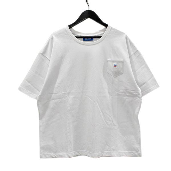 【人気No.1】 【】WIND AND SEA × arena POCKET T-SHIRTS ポケットTシャツ ホワイト サイズ:L 【260820】(ウィンダンシー アリーナ), 住器プラザ 8a299ef3