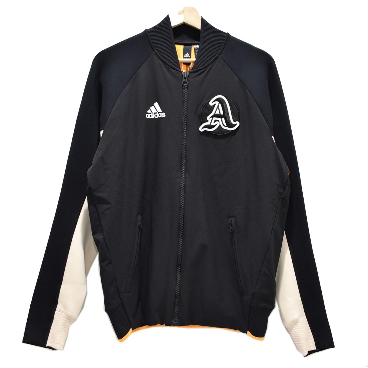 【中古】adidas トラックジャケット ブラック サイズ:0 【280820】(アディダス)