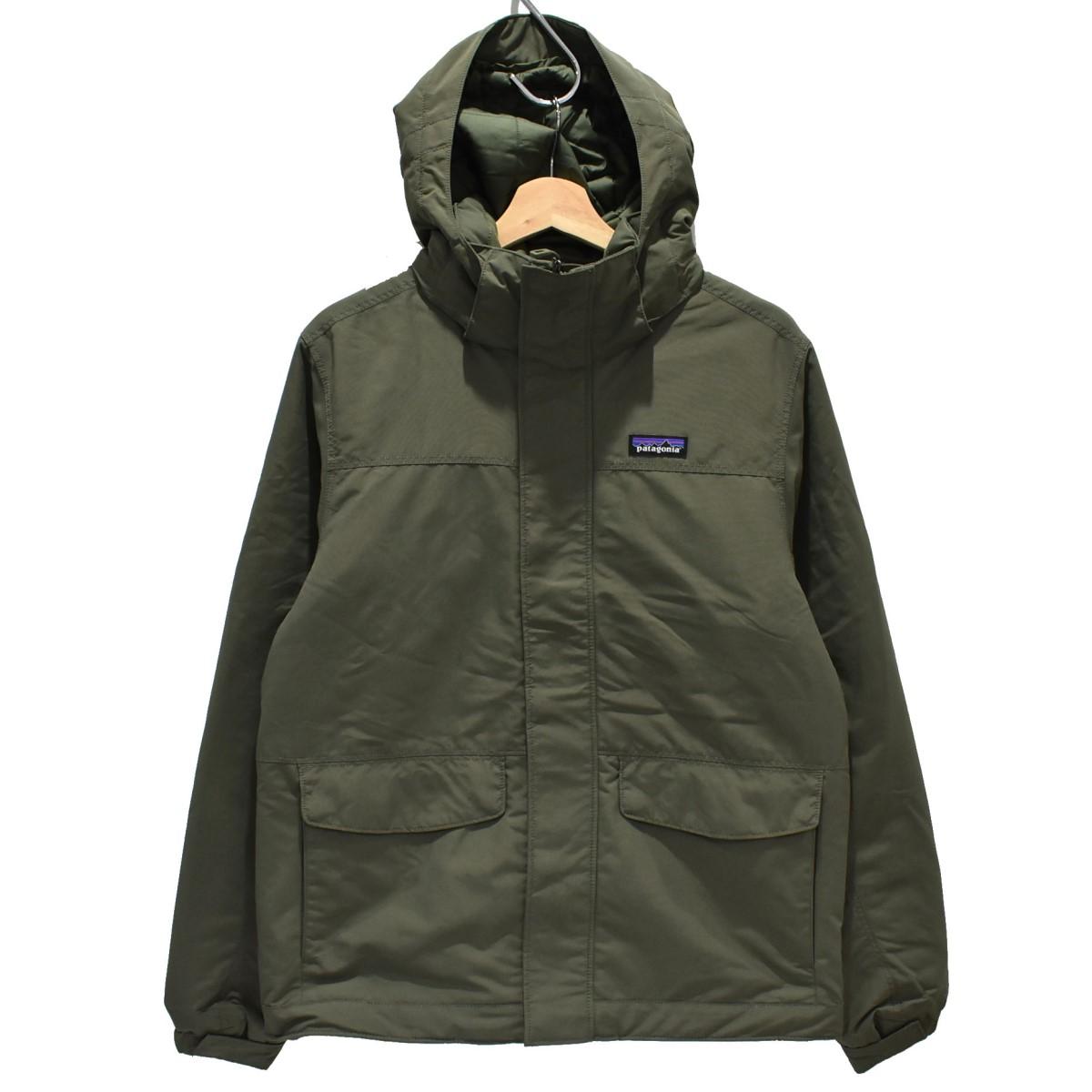 【中古】patagonia 19AW Isthmus Jacket イスマスジャケット オリーブ サイズ:S 【280820】(パタゴニア)